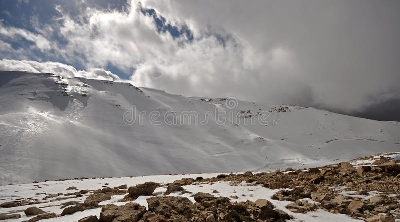 Download Lebanon_snow_09 stock image. Image of snow, makmel, mountain - 12415521