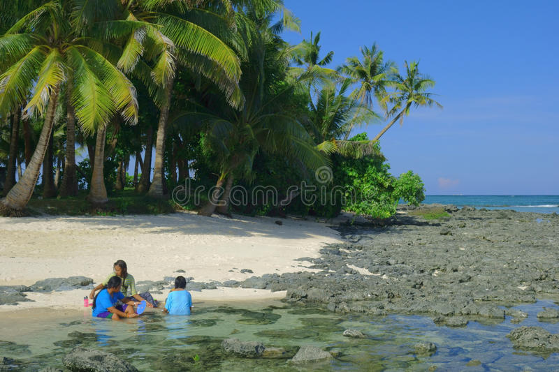 Leben auf der Insel lizenzfreie stockfotos