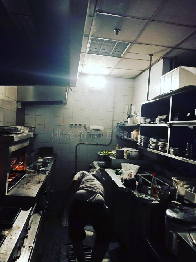 Leben in der Dunkelheit stockfotografie