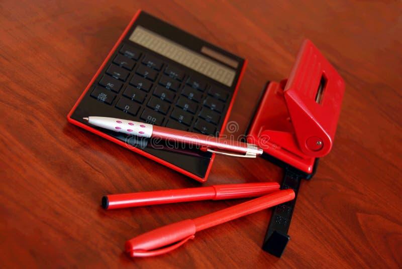 Leben des Büroschreibtisches noch lizenzfreies stockbild