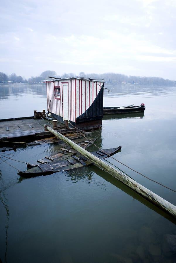 Leben des Fischers lizenzfreies stockfoto