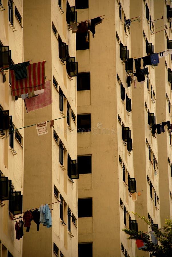 Leben Ebenen in den Singapur-HDB stockfotografie