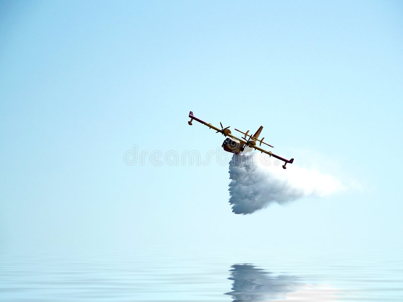 Leben-Einsparung-Flugzeuge stockfotos