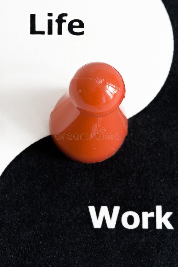 Leben- und Arbeitsschwerpunkt stockbilder