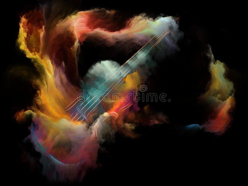 Lebende Musik stock abbildung