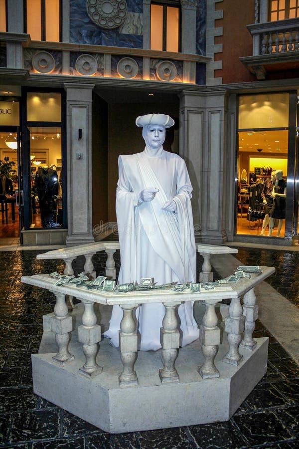 Lebende Statue lizenzfreie stockfotografie