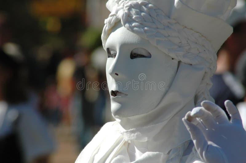 Lebende Statue lizenzfreies stockfoto