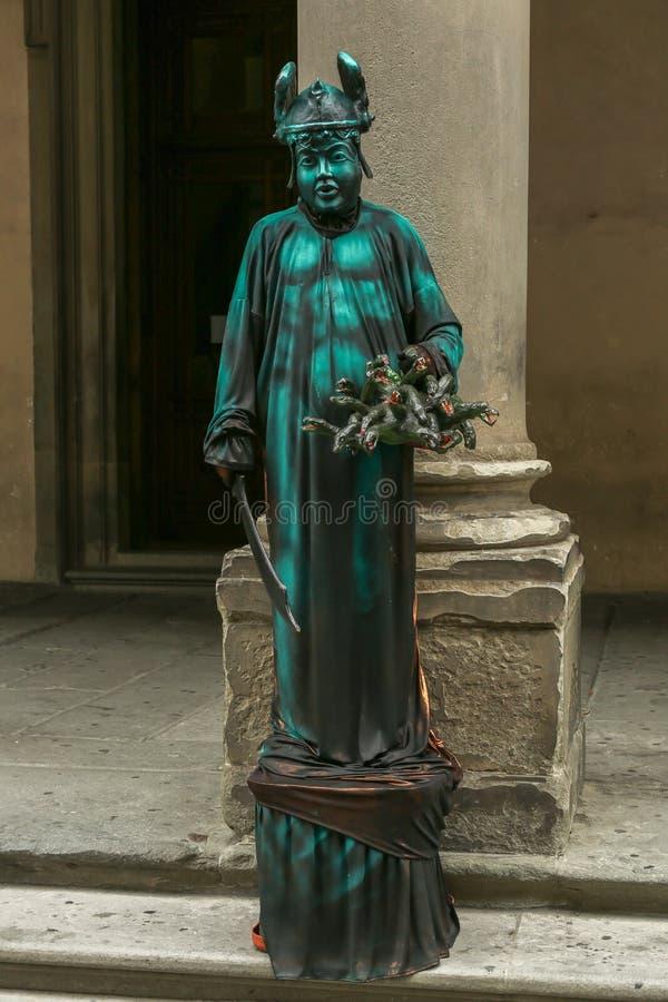 Lebende Statue lizenzfreies stockbild