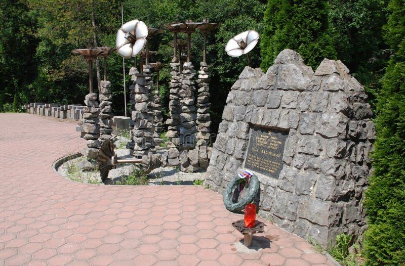 Lebendes Wand-Monument lizenzfreie stockfotografie