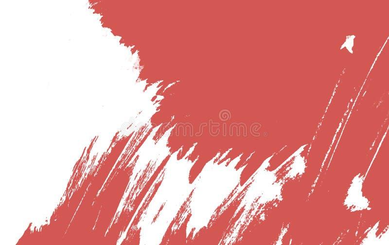 Lebenkoralle, Farbe des 2019-jährigen Farbenanschlags vektor abbildung