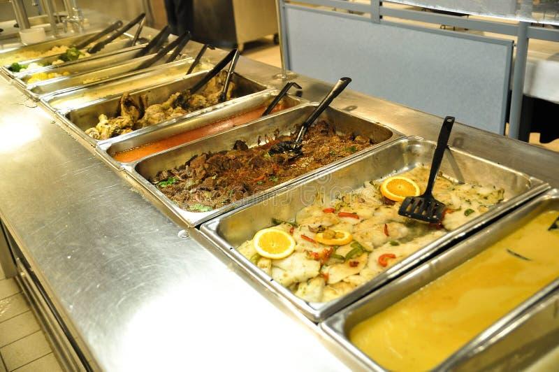 Lebensmittel-Buffet stockfoto