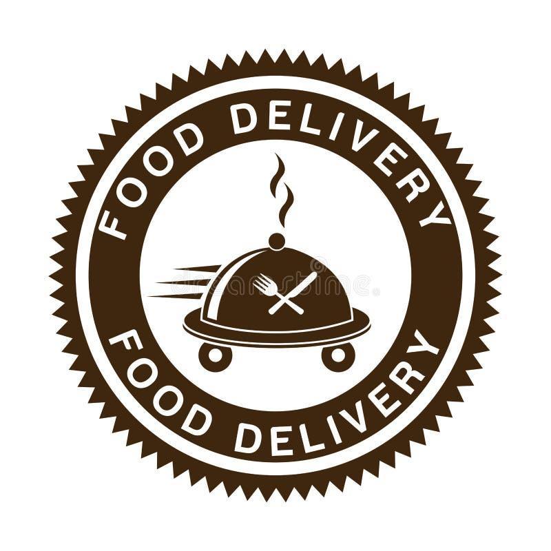 Lebensmittel-Lieferungs-Design vektor abbildung