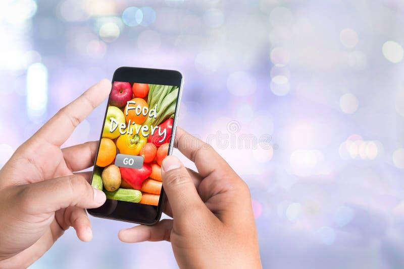 Lebensmittel-Lieferungs-Lebensmittel lizenzfreies stockfoto