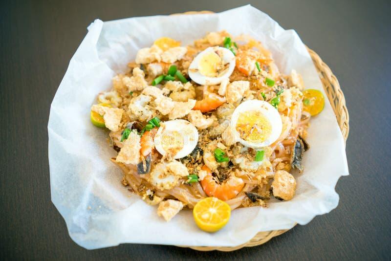 Lebensmittel Pansit Palabok Philippine stockfotografie