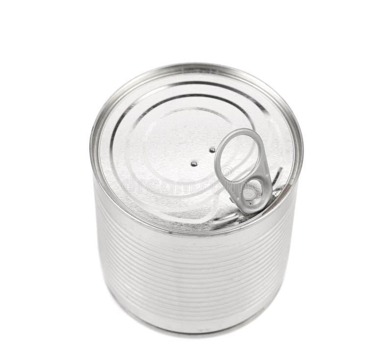 Lebensmittel Tin Can Lid lizenzfreie stockfotos