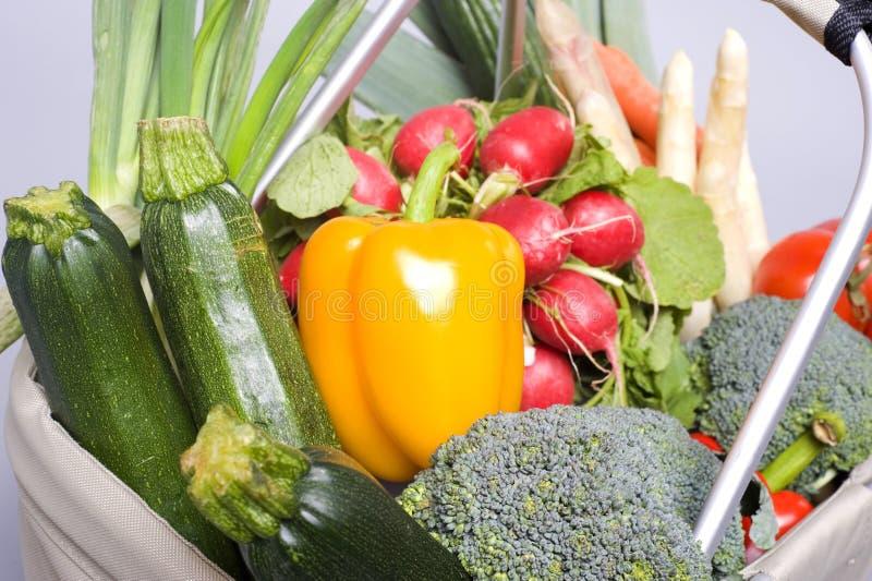 Lebensmittelgeschäftbeutelnahaufnahme lizenzfreies stockfoto