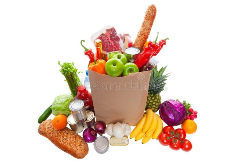 Lebensmittelgeschäfte lizenzfreie stockfotos