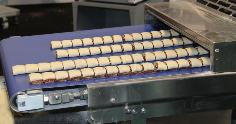 Lebensmittelproduktions-Maschine stockfoto