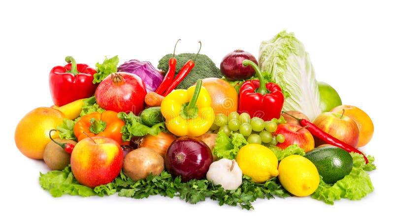 Lebensmittelsatz stockfotos