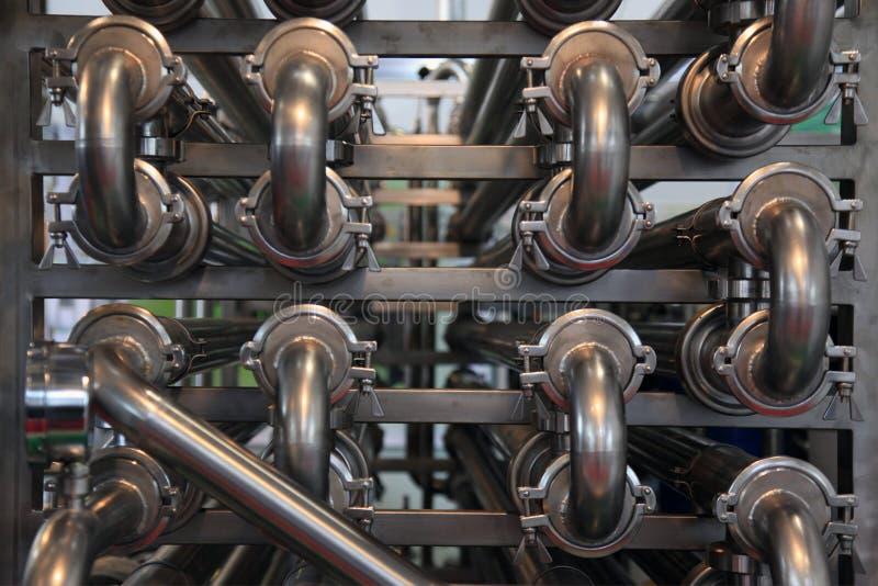 Lebensmittelverarbeitungs-Industrie stockfoto