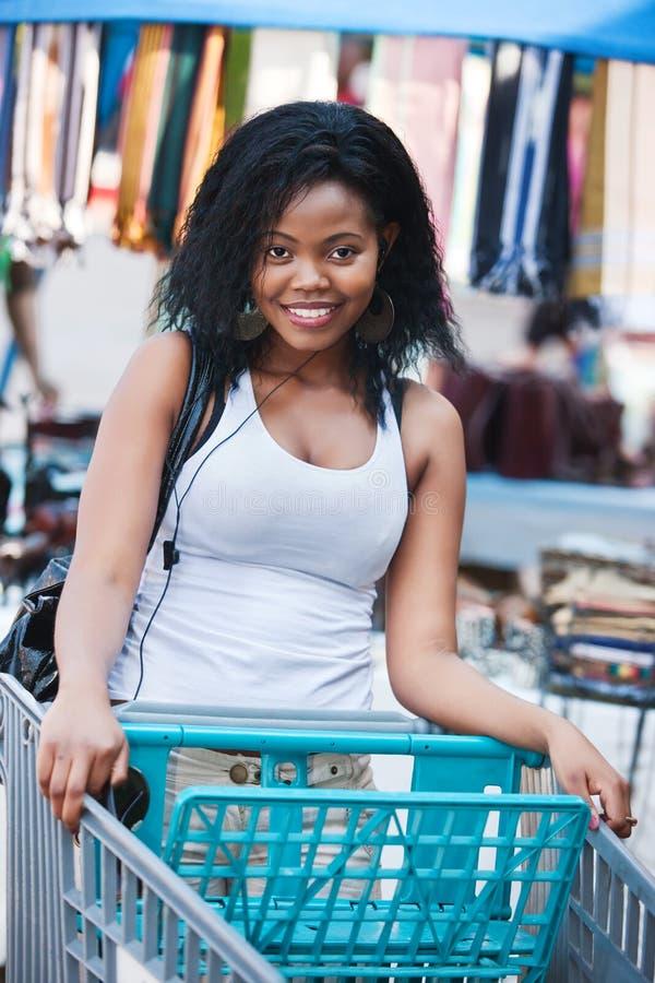 Lebensstilafrikaner stockfotografie