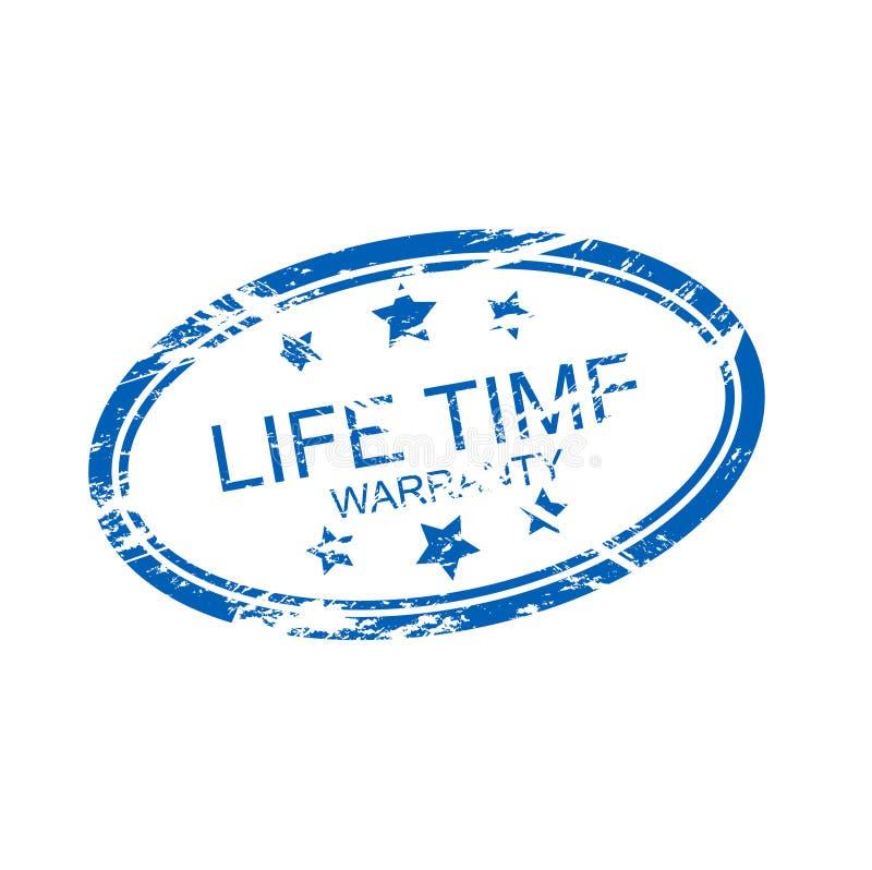Lebenzeitgarantie (Vektor) lizenzfreie abbildung
