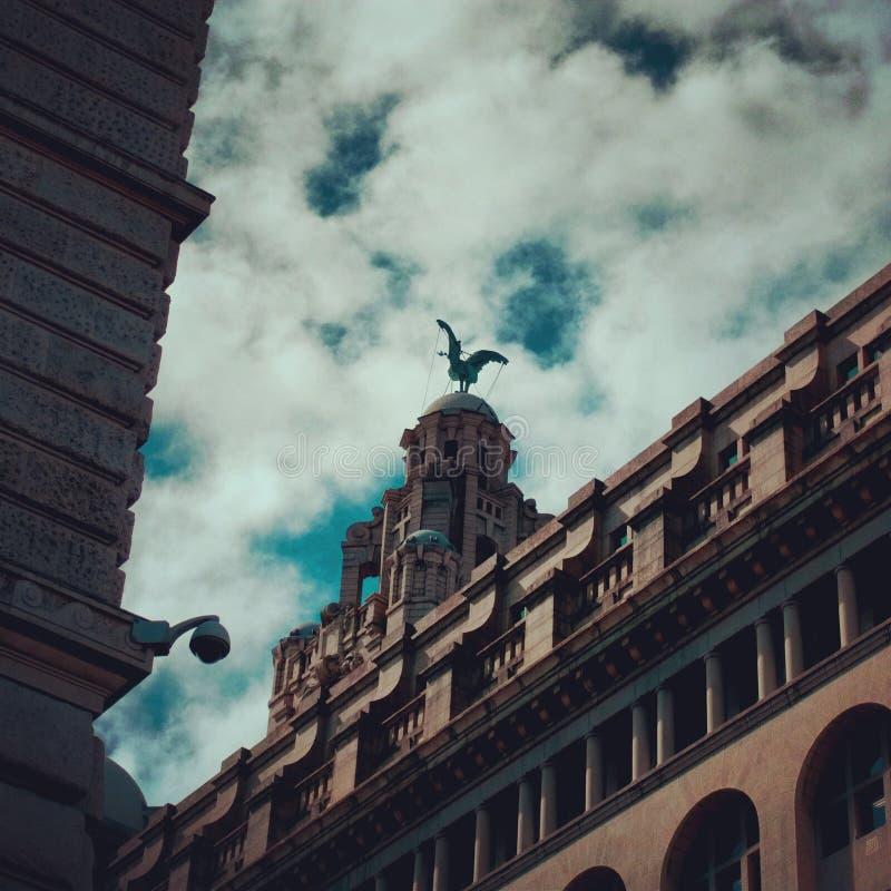 Leber-Gebäude stockfoto