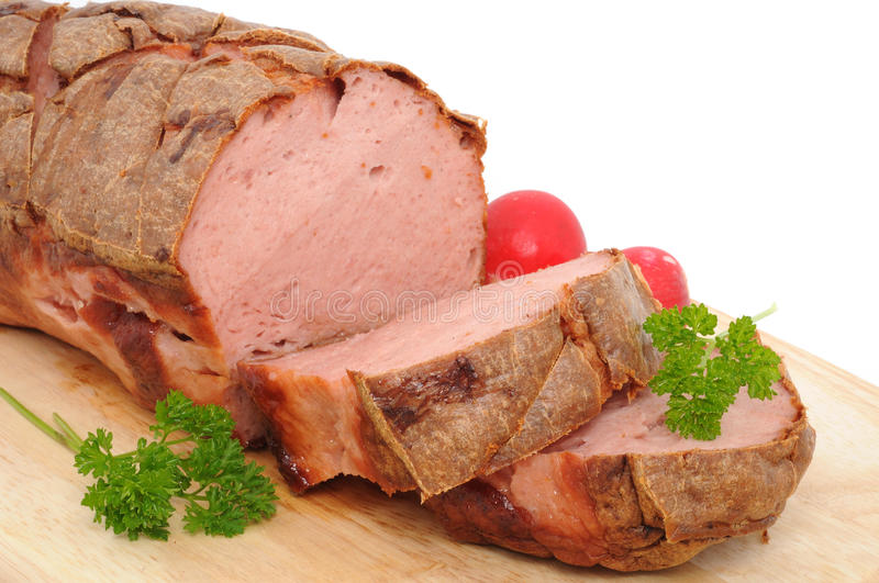 Leberkaese stock photography