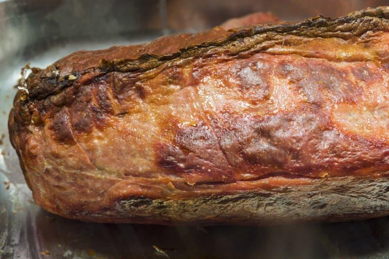 Leberkaese, Meat Loaf fotos de stock