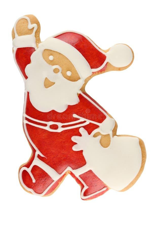 Lebkuchen Santa Claus stockbild