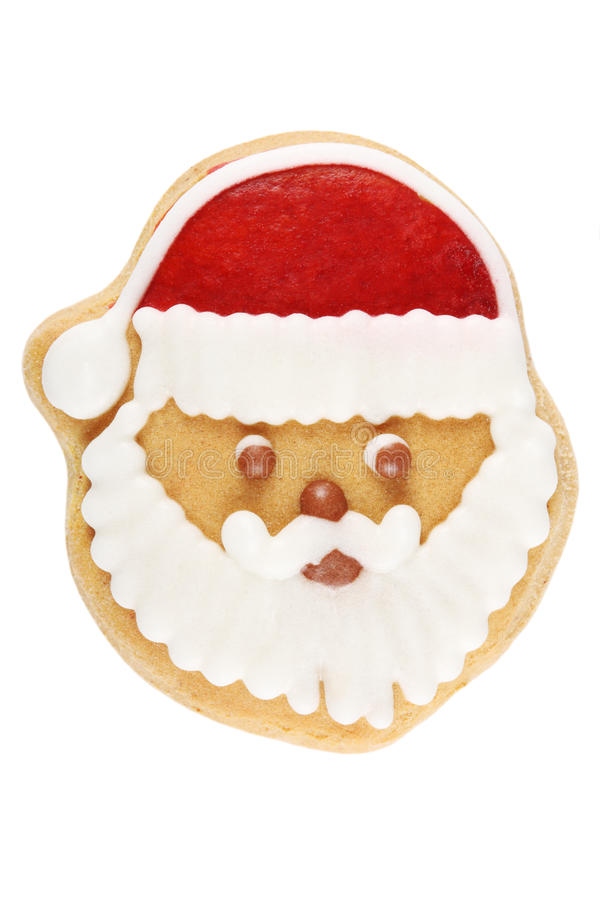 Lebkuchen Santa Claus stockbilder