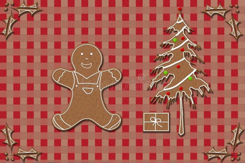 Lebkuchen und Weihnachten lizenzfreie stockfotografie