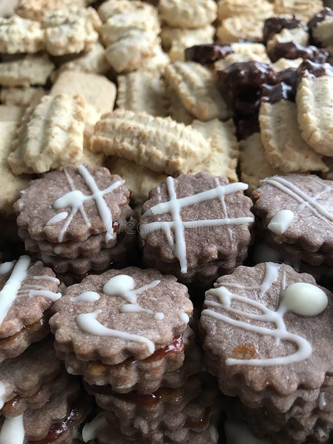 Lebkuchenplätzchen und aromatische Gewürze lizenzfreies stockfoto