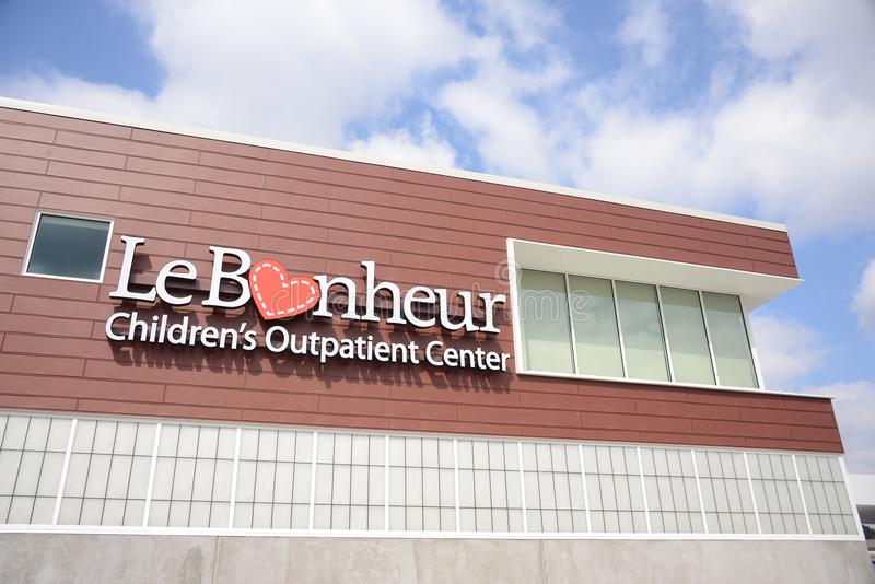 LeBonheur dzieci ` s pacjenta dochodzącego centrum zdjęcia stock