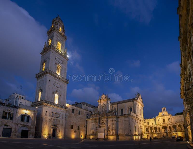 Lecce, Πούλια, Ιταλία στοκ εικόνες με δικαίωμα ελεύθερης χρήσης