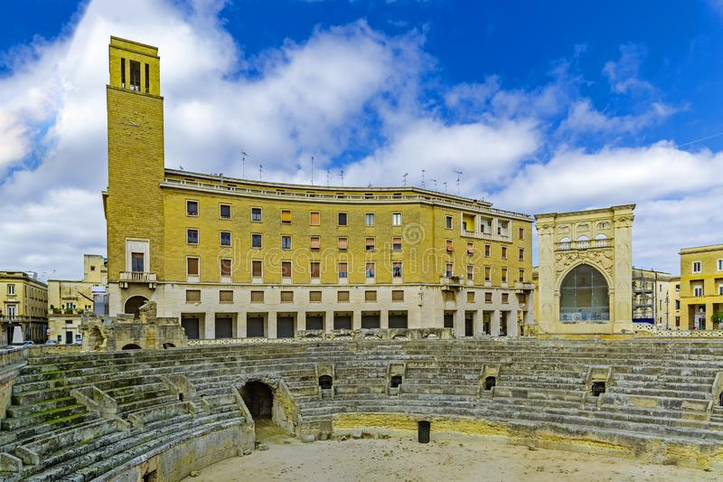 Lecce, Πούλια, Ιταλία στοκ φωτογραφία με δικαίωμα ελεύθερης χρήσης