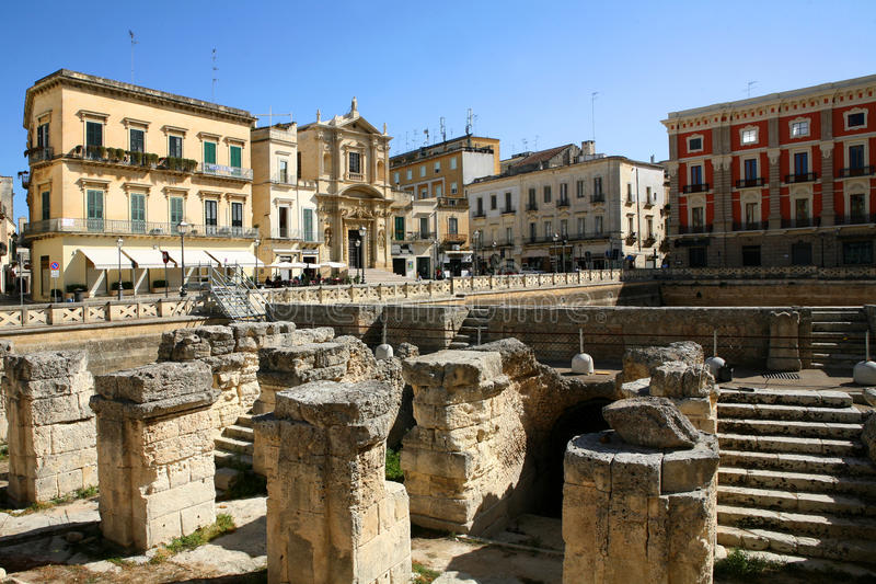 Lecce στοκ εικόνες με δικαίωμα ελεύθερης χρήσης