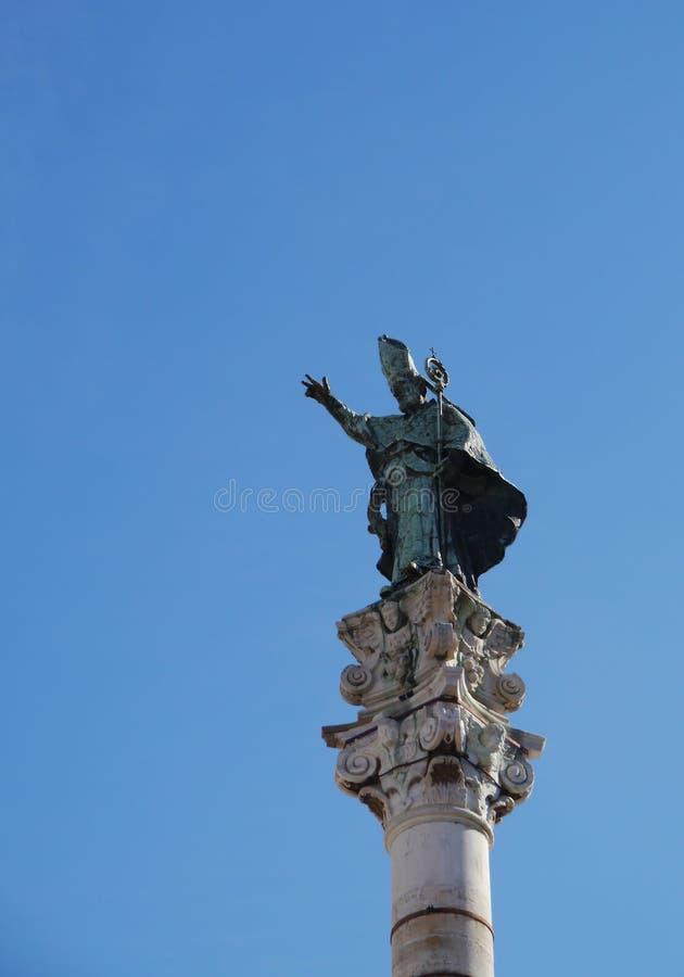 Lecce in apulia in Italië royalty-vrije stock afbeeldingen