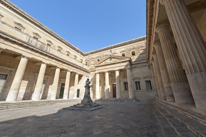 Lecce (Apulia, Italien): Das Carducci Quadrat stockfoto