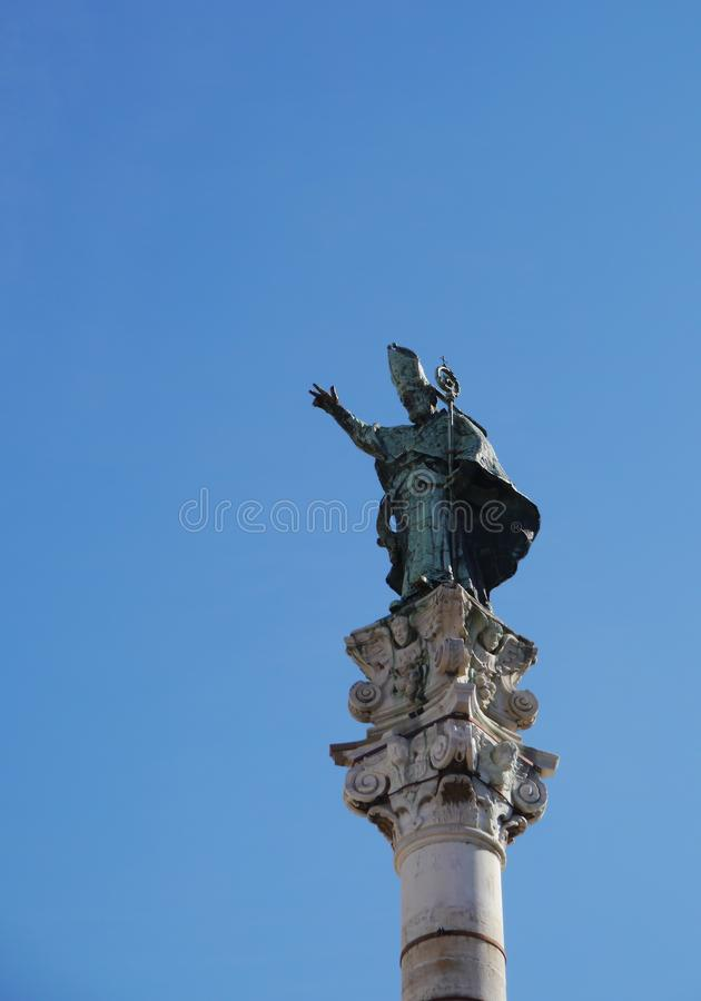 Lecce in apulia in Italy royalty free stock images