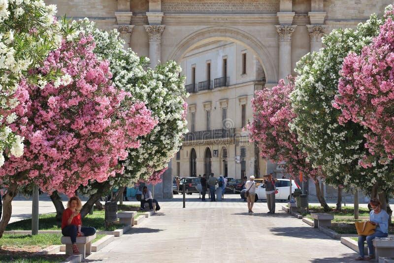 Lecce, Italie photo stock