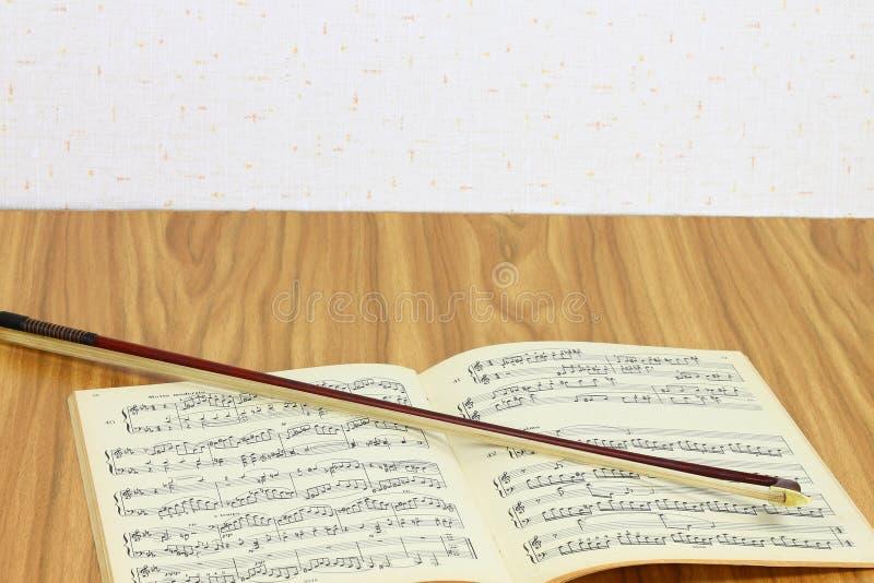 Lección de música imagen de archivo