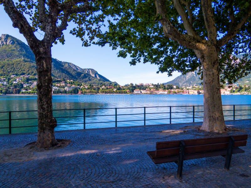 Lecco, Lago de Como, Italia foto de archivo libre de regalías