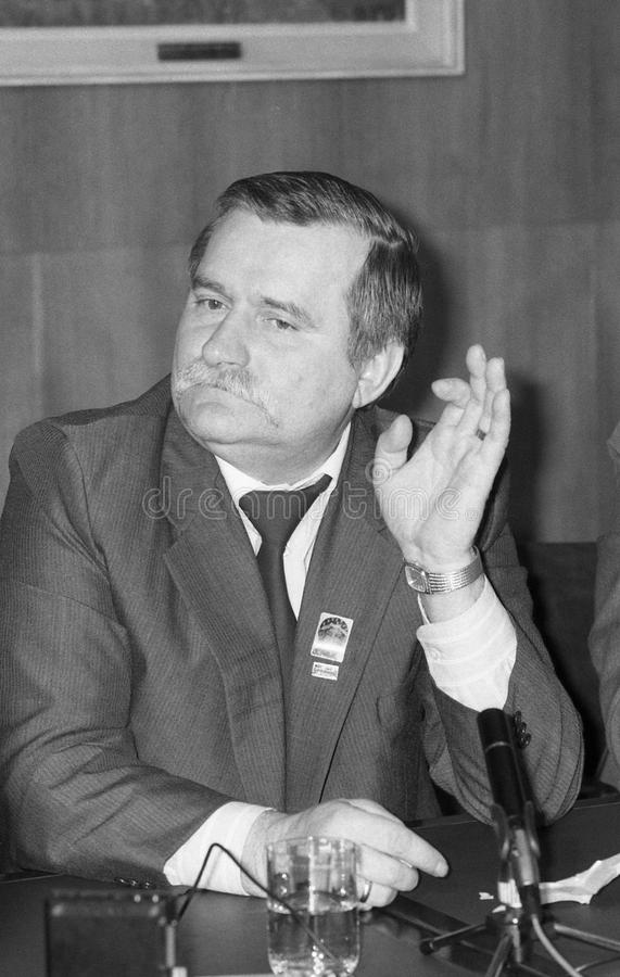 Download Lech Walesa editorial photo. Image of president, leader - 10924371