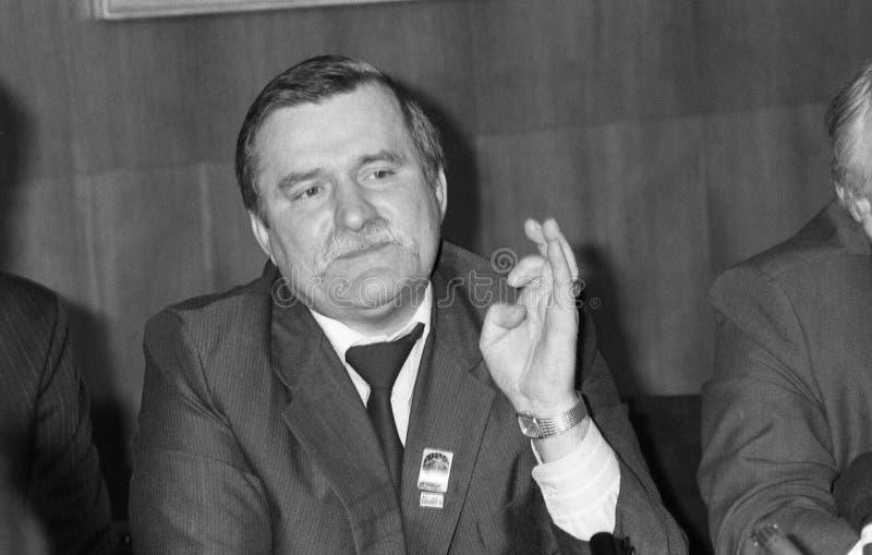 Lech Walesa στοκ φωτογραφία