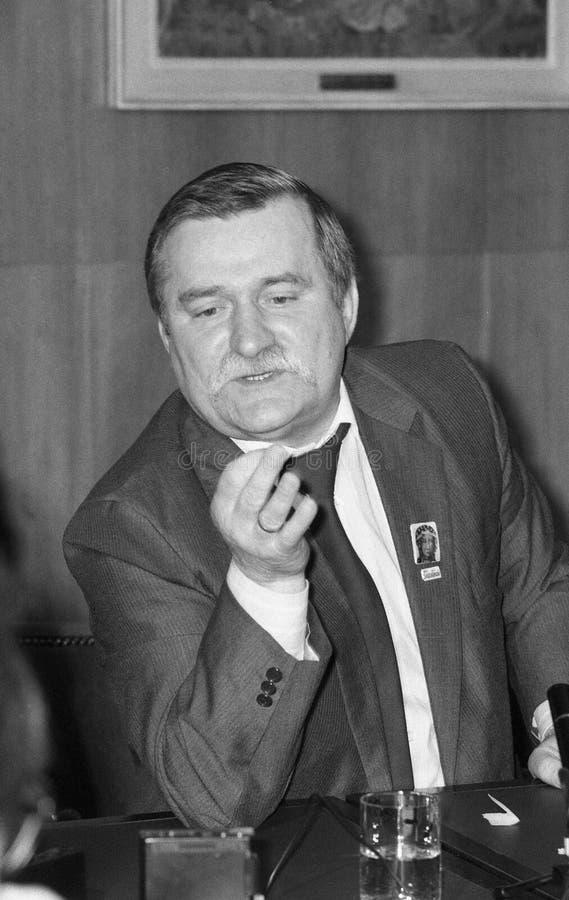 Lech Walesa στοκ φωτογραφίες με δικαίωμα ελεύθερης χρήσης