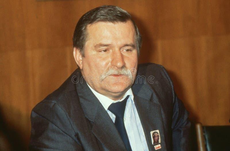 Lech Walesa στοκ εικόνες