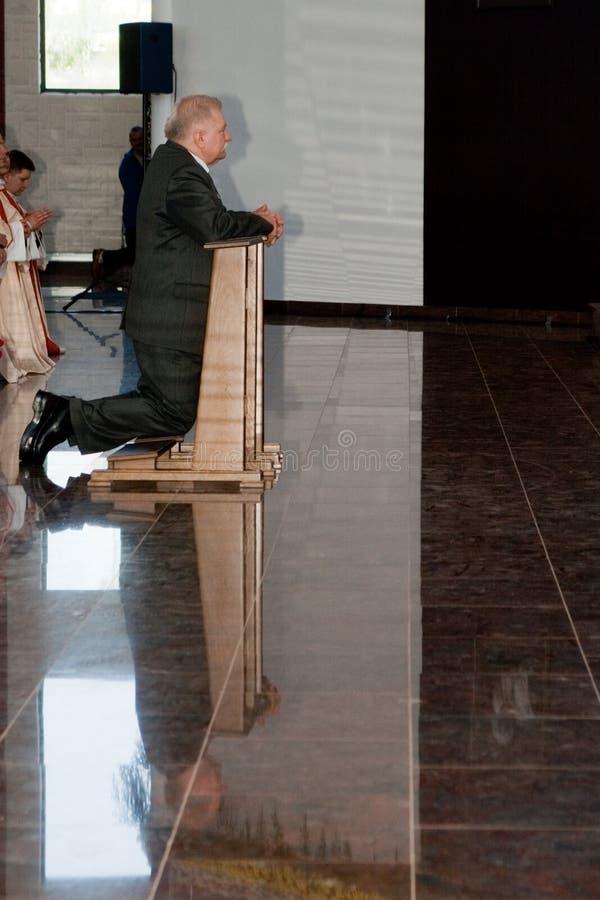 Lech Walesa, bön. arkivbild