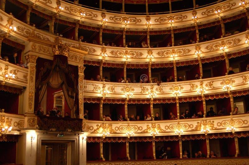 Lech Walesa no teatro de REGIO em Parma fotos de stock royalty free
