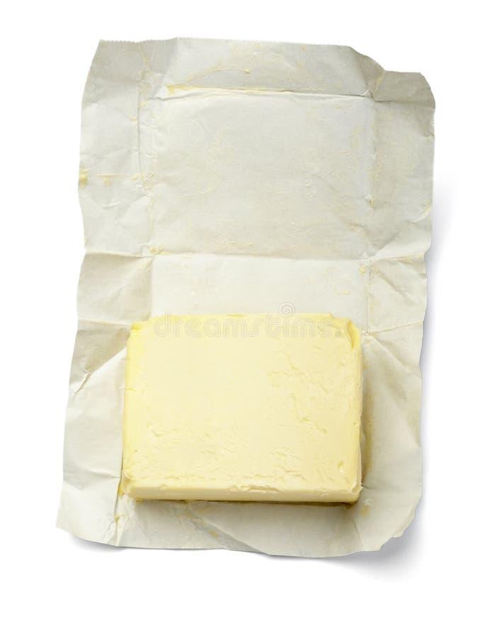Leche de la lechería del colesterol del alimento de la margarina de la mantequilla fotos de archivo